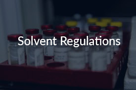 solvent regulations