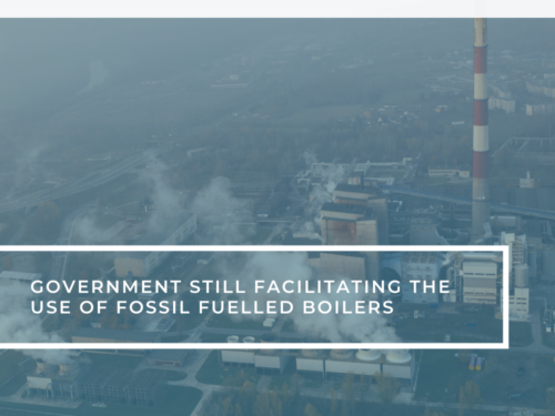 fossil fueled boilers