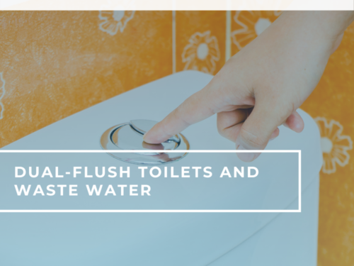 dual flush toilets wastewater